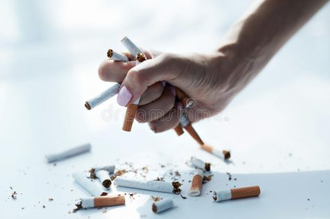 Tobacco is a Drug. Avoid it.