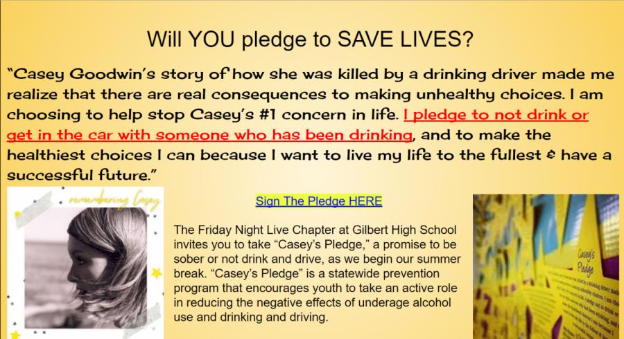 Pledge to Save Lives