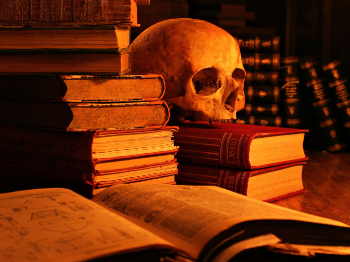 Our Library is Haunted!! Read all About it Right Here.